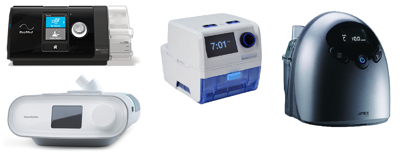 Comparing expiratory relief in different CPAP machines